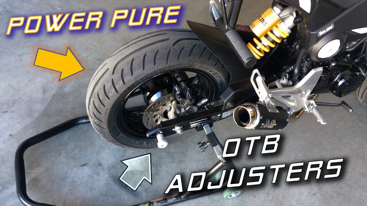 Best Upgrades For The Worst Parts Of Honda Grom Tires Adjusters Install