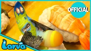 LARVA - SUSHI | 2016 Full Movie Cartoon | Cartoons For Children | LARVA Official thumbnail
