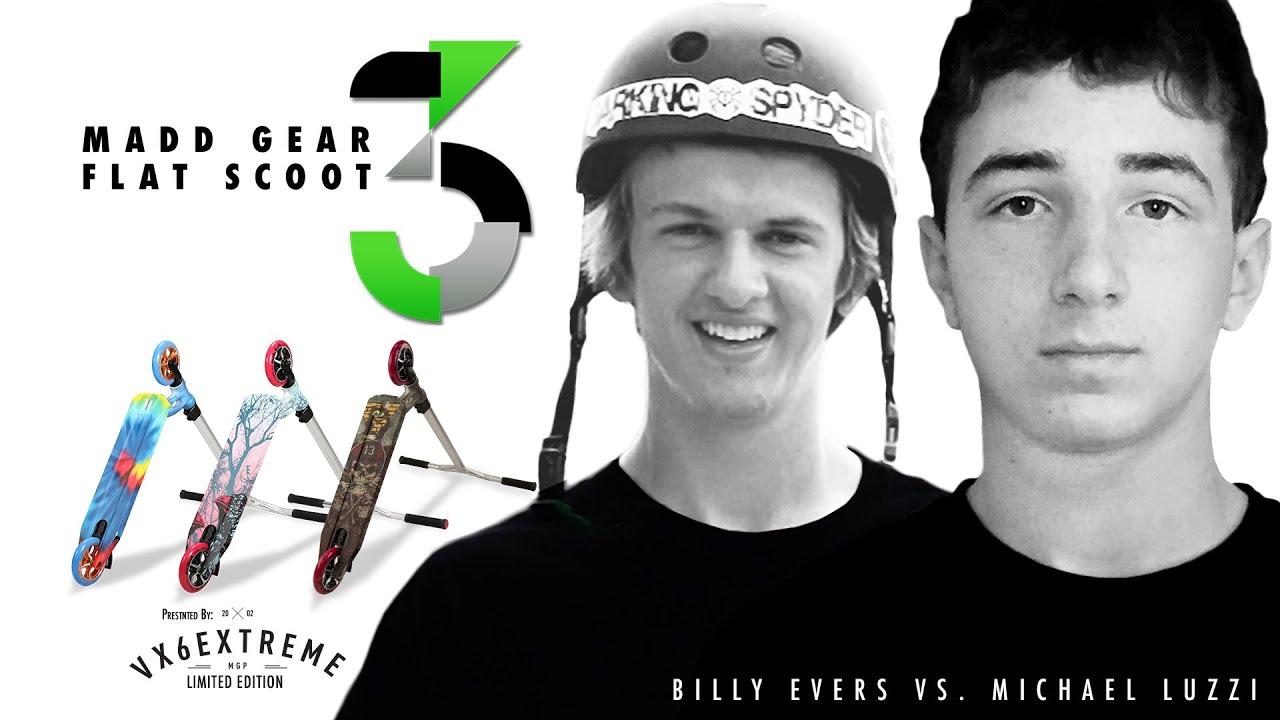 Download Madd Gear Flat Scoot 3   Billy Evers vs. Michael Luzzi