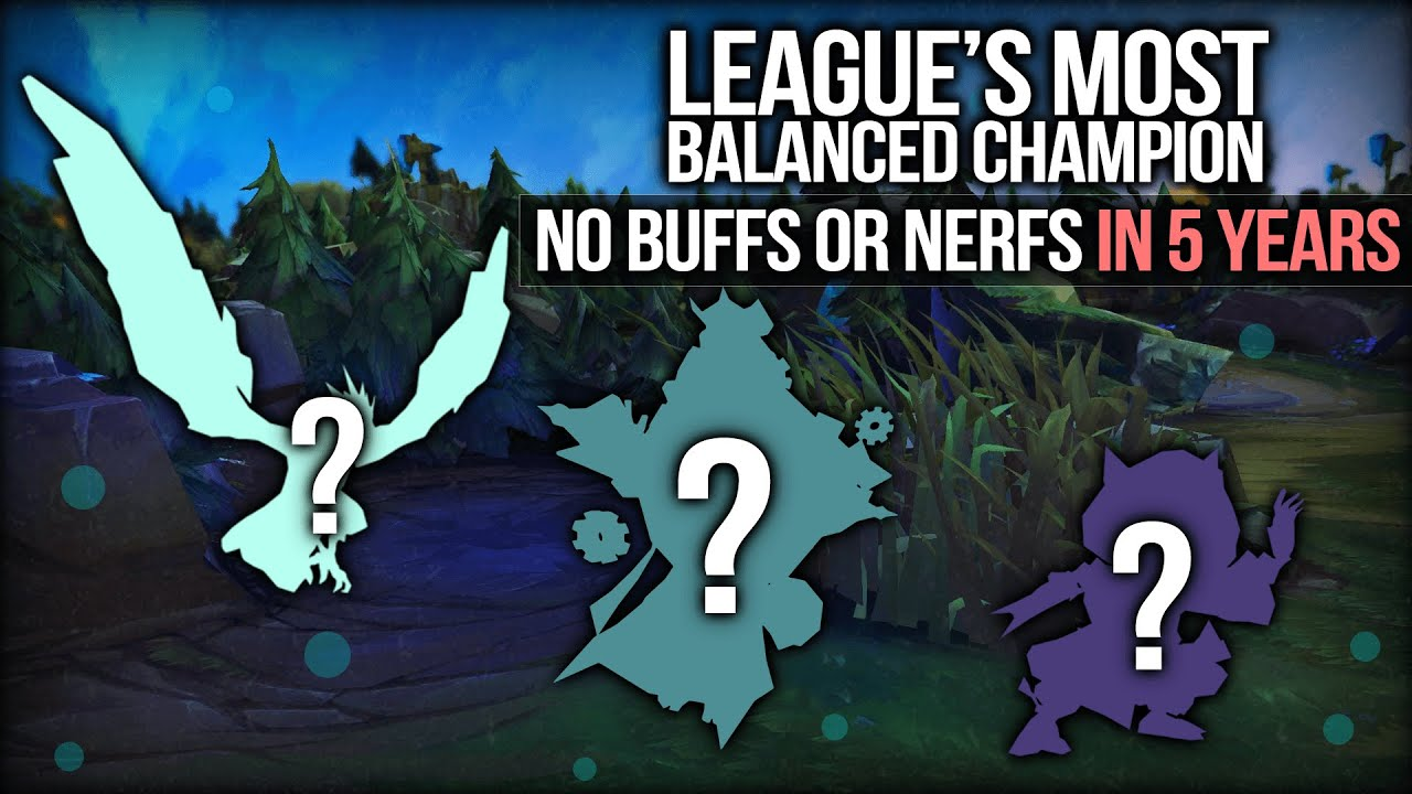 Who Is League of Legends' Most Balanced Champion? thumbnail