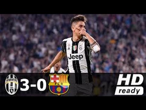 Juventus 3 0 Barcelona 2017 Liga champion 2017 - YouTube