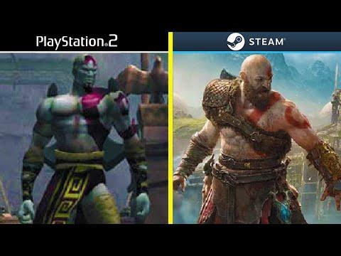 Evolution Of God Of War Games 2005-2018