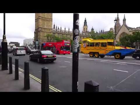Sights and Sounds of London, UK (Bridge Street to Westminster Bridge Morning Walk)