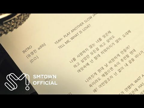 [STATION] 유영진 X D.O. 'Tell Me (What Is Love)' Prologue