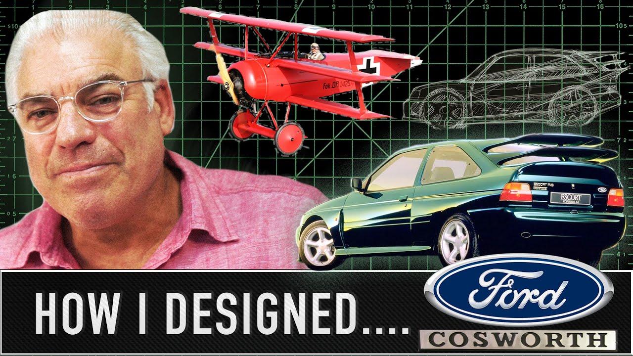 Watch The Ford Escort Cosworth S Designer Draw The Car S Original