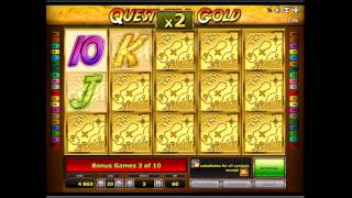 видео Игровой автомат Quest For Gold онлайн