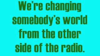 the Other Side Of The Radio by Chris Rice Lyrics