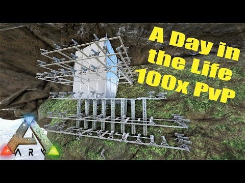 Day in the life | Ark 100x Unofficial PvP