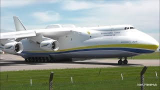 Antonov 225 Mriya Departure from East Midlands UK | 13/06/14