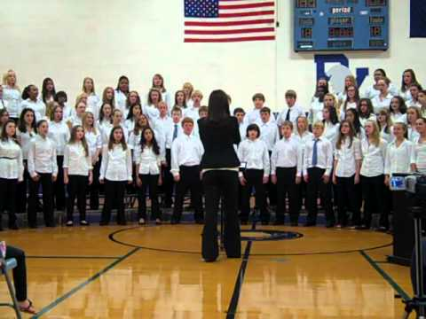 PVJH 7th Grade Choir - Celebrate With Jubilant Song