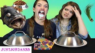 Bean Boozled  Vs Real Food / JustJordan33