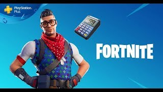 PACK PLAYSTATION®PLUS No.4 available on Fortnite Battle Royale a Download FOR FREE