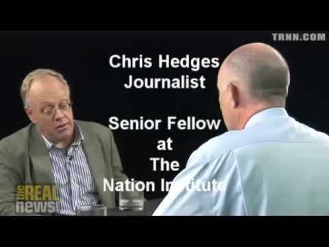 Chris Hedges Calling for Overthrow of The System