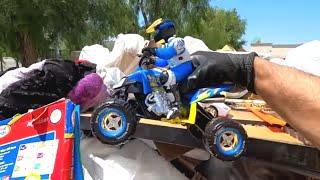 Dumpster Diving- Someone threw away their kids toys \u0026 books