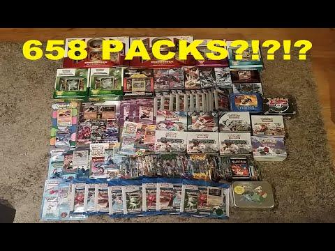 658 PACKS! LONGEST POKEMON PACK OPENING ON YOUTUBE!! - HORDE #2!