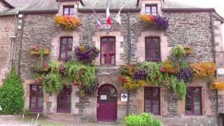 FRANCE Rochefort-en-Terre, Brittany (hd-video)