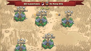 Another War Victory BD Indomitable And We Showed Some Our Attacks | Clash Of Clans War
