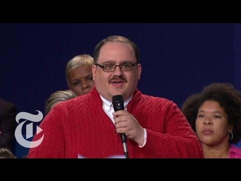 Ken Bone's Debate Moment | Election 2016 | The New York Times