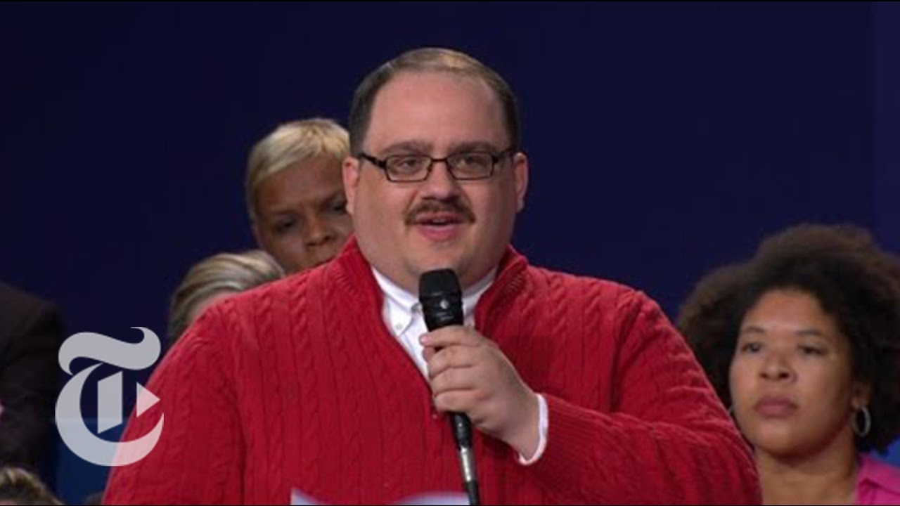 Ken Bone's Debate Moment | Election 2016 | The New York Times ...