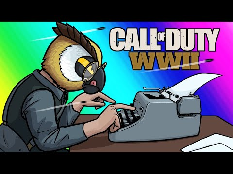 Call of Duty WW2 Funny Moments - Type the Essay Faster!!