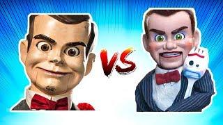 Slappy vs Benson - Toy Story 4 vs Goosebumps - Who is the Better Villain