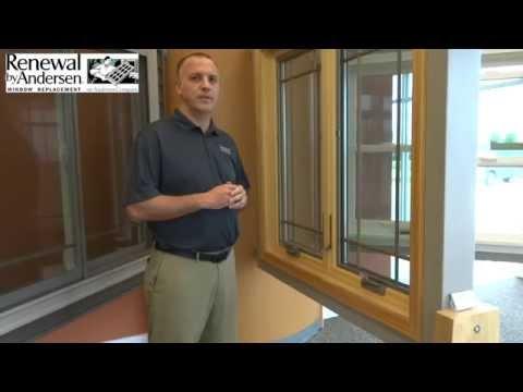 Casement Window Demonstration - Peoria, IL - Renewal by Andersen