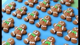 имбирное печенье человечки новогодние Dovna Enterprises