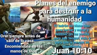 REVELACION PLANE DEL ENEMIGO PARA EXTERMINAR A LA HUMANIDAD /CON ACCIDENTES ,POSEYENDO  SU MENTE