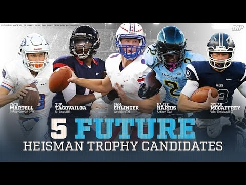 Top 5 Future Heisman Trophy Candidates
