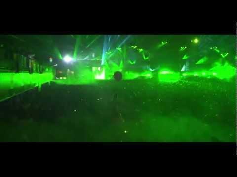 Skrillex Live @Tomorrowland 2012 Reptile Theme & Bangarang