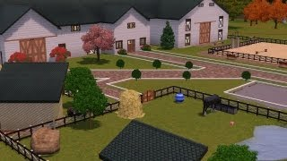 Sims 3 : Horse Stable- Friesian Equestrian Centre