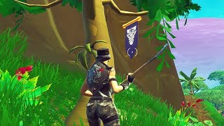 Season 8 Week 6 Secret Banner Location Guide! Fortnite Find the Secret Banner in Loading Screen 6