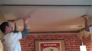 Wall Covering Designs | How to Install Acoustical Panels