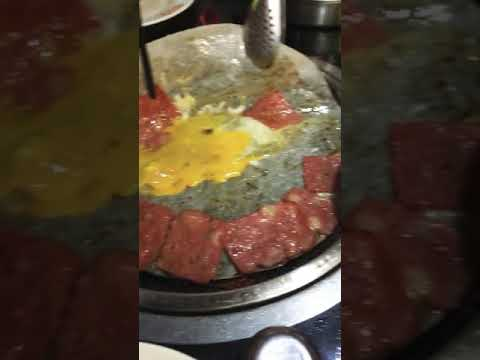 A new method of cooking eggs