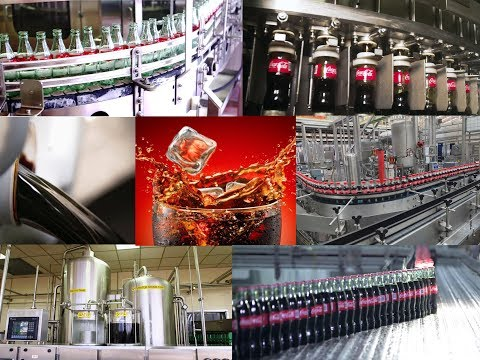 Coca Cola: How It Is Made Full Production, Preparation, Processing, Bottling