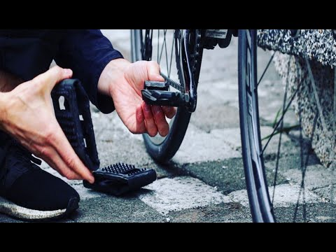 Pocket Pedals are platform slippers for clipless pedals