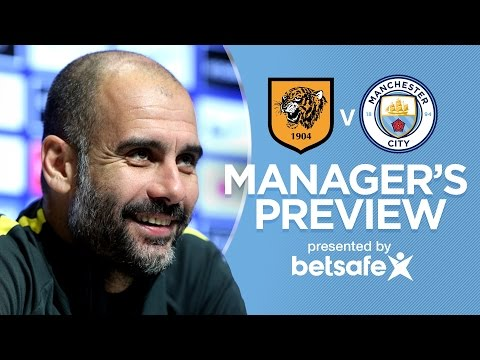 MERRY CHRISTMAS FROM THE BOSS! | Hull v Man City | Guardiola Press Conference