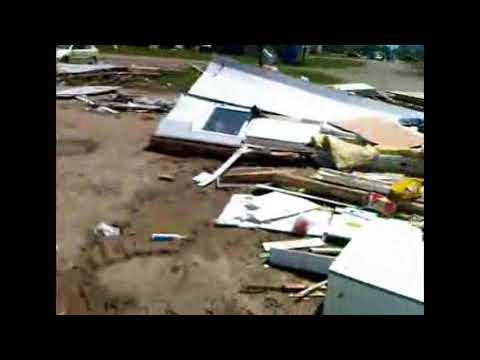 Tornado damage in Saskatchewan 3