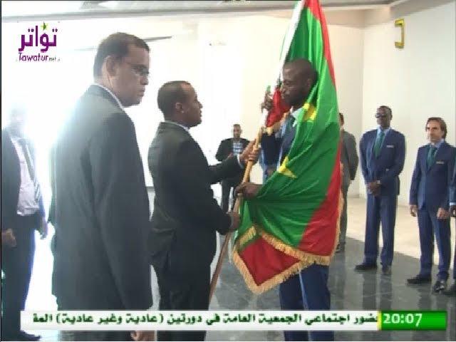 المنتخب الوطني للمحليين يغادر نواكشوط باتجاه الدار البيضاء للمشاركة في نهائيات كأس الشان