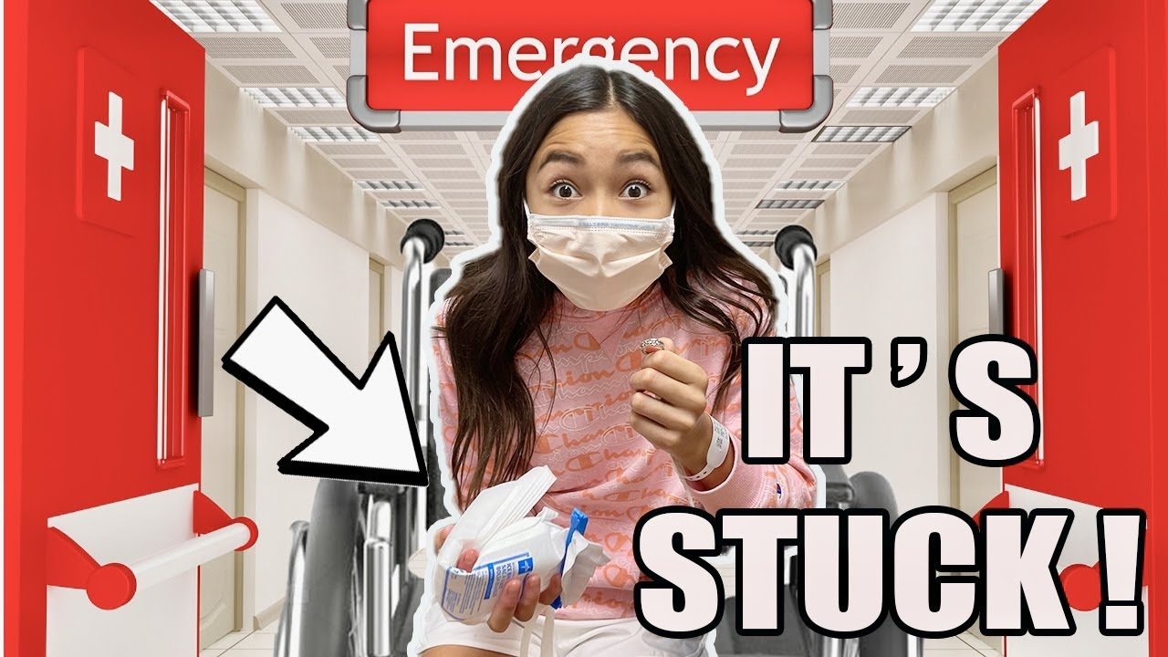 ANOTHER TRiP to the EMERGENCY ROOM || IT'S STUCK!?!