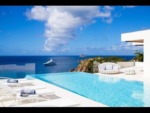 WIMCO - St. Barts Villa Vitti located above Shell beach