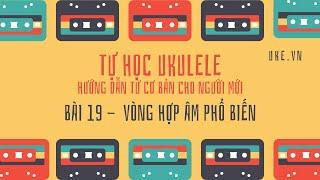 Ukulele - Bài 19 -  Hợp âm để chơi hàng trăm bài hát