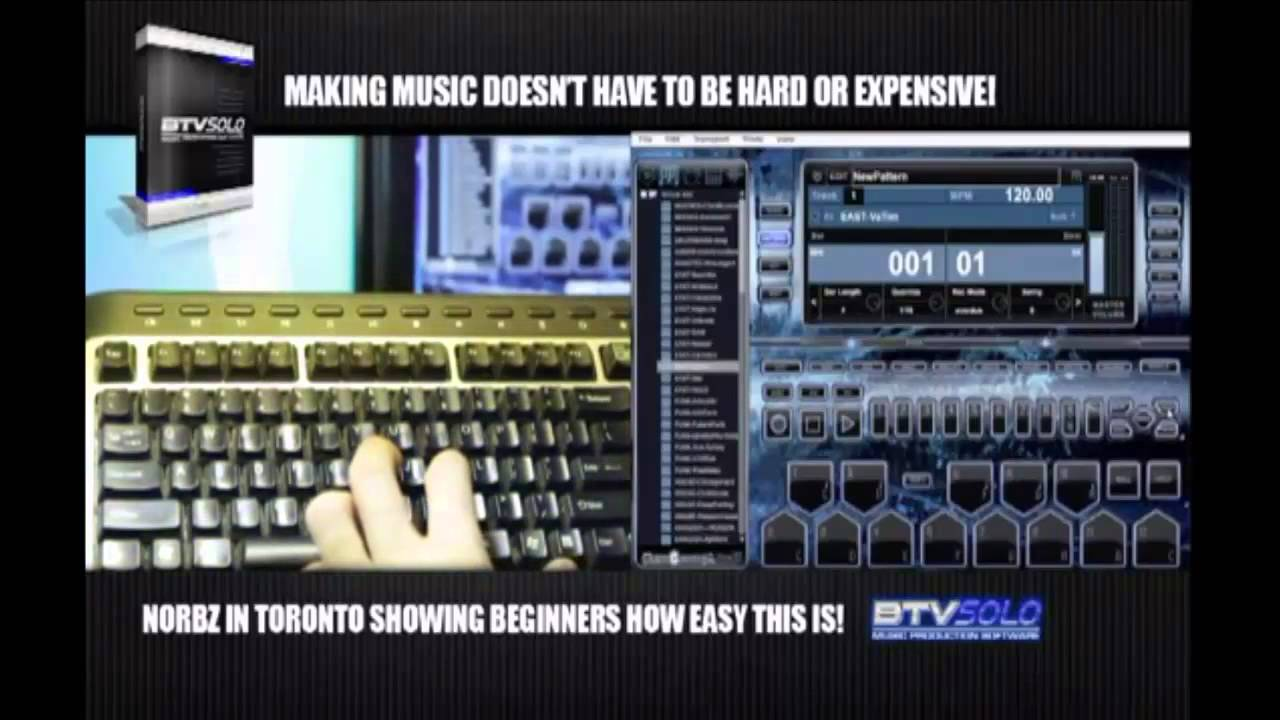 Music Making Software Professional Production BTV Solo Make Your Own