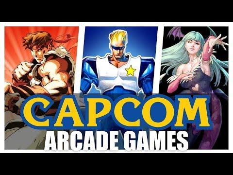 All Capcom Arcade Games