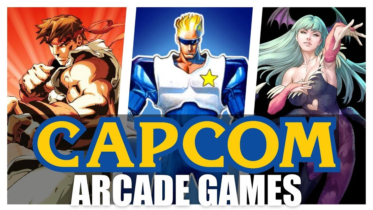 All Capcom Arcade Games