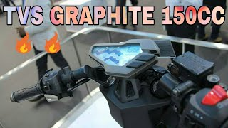 All New TVS GRAPHITE 150CC scooter 2018