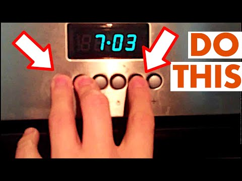 How to set the clock on a lamona oven