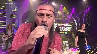 Camela - ¡Feliz 2018! TVE 1 (No pongas riendas al corazón) 31-12-2017