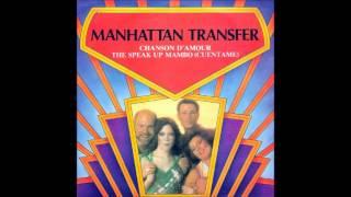 The Manhattan Transfe  Speak Up Mambo  1976 Atlantic 45    11573
