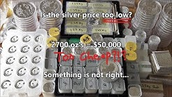 How Much Does Silver Go For